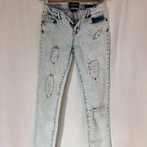 Lucky Brand Jeans Slim Distressed Sz10